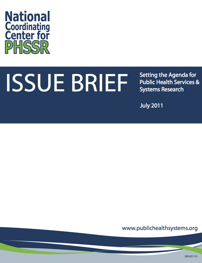 Issue Brief Cover